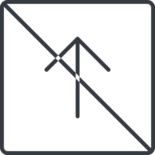 arrow-simple-thin thin, line, up, square, arrow, direction, prohibited, arrow-simple-thin free icon 512x512 512x512px