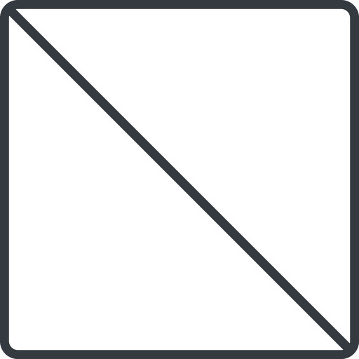 square thin, line, square, prohibited free icon 512x512 512x512px