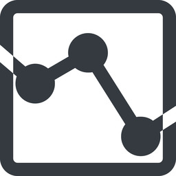 analytics-wide line, down, wide, square, horizontal, mirror, graph, analytics, chart, analytics-wide free icon 256x256 256x256px