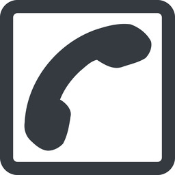phone-solid line, down, wide, square, phone, call, dial, number, phone-solid, telephone free icon 256x256 256x256px
