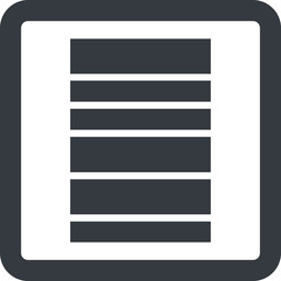 barcode-wide line, right, wide, square, barcode, barcode-wide free icon 256x256 256x256px
