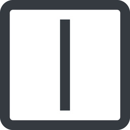 minus-wide line, right, wide, square, minus, remove, sub, substract, collapse, minus-wide, -, less free icon 256x256 256x256px