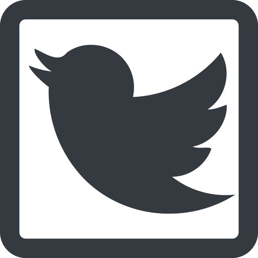 twitter line, up, wide, square, logo, brand, horizontal, mirror, social, twitter, bird, twit free icon 512x512 512x512px