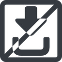 sign-in-solid line, right, wide, solid, square, sign, in, signin, login, log, log-in, download, upload, prohibited, connection, sign-in-solid free icon 128x128 128x128px