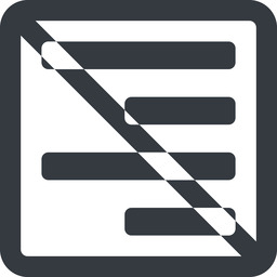 right-align-alt-solid line, up, right, wide, solid, square, prohibited, text, align, alignment, editor, right-align, align-right, align-right-alt, right-align-alt, right-align-alt-solid free icon 256x256 256x256px