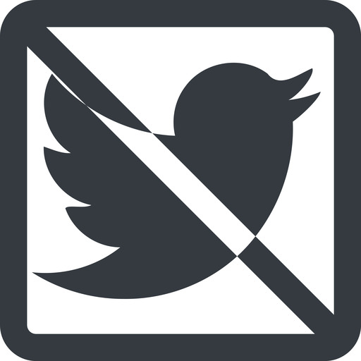 twitter line, up, wide, square, logo, brand, social, prohibited, twitter, bird, twit free icon 512x512 512x512px