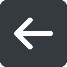 arrow-simple-wide left, solid, square, arrow, direction, arrow-simple-wide free icon 256x256 256x256px