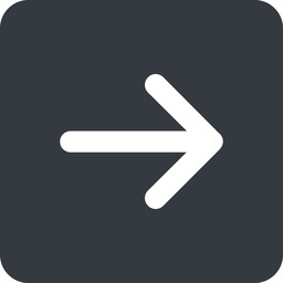 arrow-simple-wide right, solid, square, arrow, direction, arrow-simple-wide free icon 256x256 256x256px