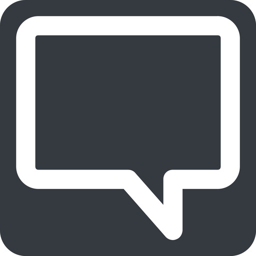 comment-square-wide wide, solid, square, horizontal, mirror, dots, message, chat, comment, speech, dialogue, blablabla, blabla, bubbles, comment-square-wide free icon 512x512 512x512px