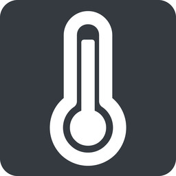 temperature-high-wide wide, solid, square, temperature, thermometer, heat, high, temperature-high, temperature-high-wide, hot free icon 256x256 256x256px