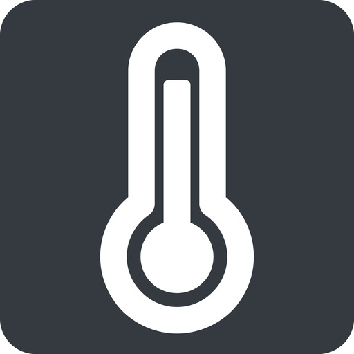 temperature-high-wide wide, solid, square, temperature, thermometer, heat, high, temperature-high, temperature-high-wide, hot free icon 512x512 512x512px
