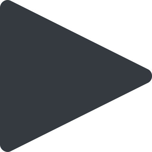 triangle triangle, thin, right, solid free icon 512x512 512x512px