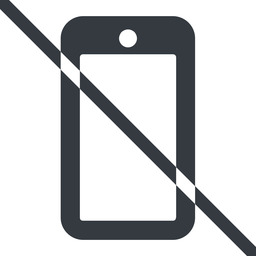 smartphone-solid line, down, normal, prohibited, iphone, phone, mobile, android, gsm, smartphone, cell, smartphone-solid free icon 256x256 256x256px