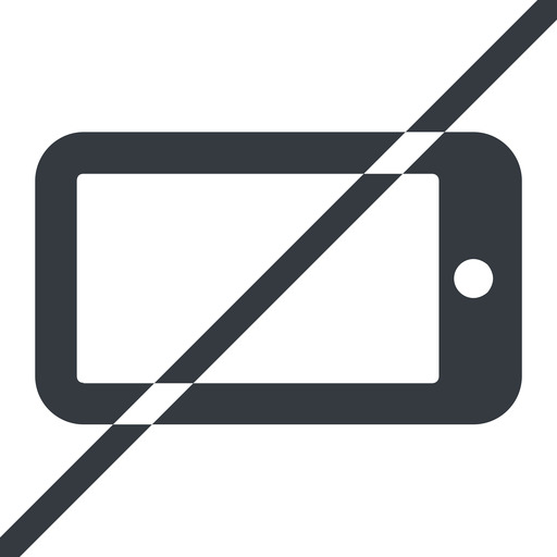 smartphone-solid line, left, normal, prohibited, iphone, phone, mobile, android, gsm, smartphone, cell, smartphone-solid free icon 512x512 512x512px