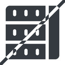 spreadsheet-solid line, right, normal, prohibited, cell, table, data, grid, row, columns, spreadsheet, spreadsheet-solid free icon 128x128 128x128px