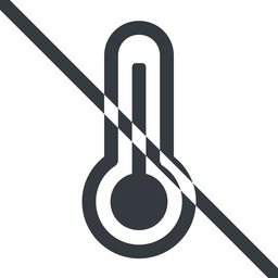 temperature-high line, normal, prohibited, temperature, thermometer, heat, high, temperature-high, hot free icon 256x256 256x256px
