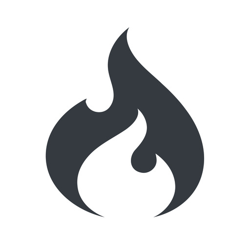 codeigniter normal, solid, logo, brand, icon, horizontal, mirror, codeigniter, igniter, code, php, framework, flame, fire free icon 512x512 512x512px