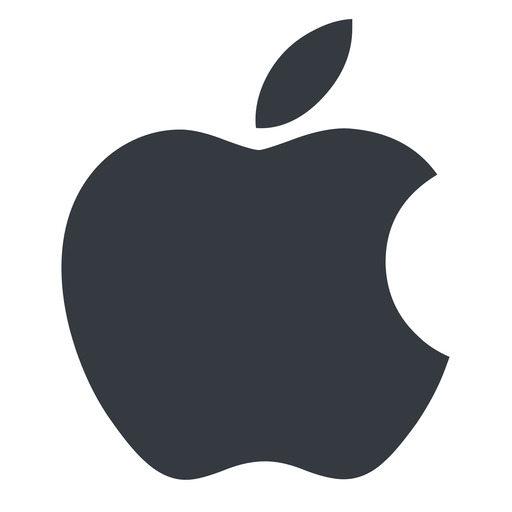 apple normal, solid, logo, brand, apple, macintosh, itunes, ipad, iphone, ipod free icon 512x512 512x512px