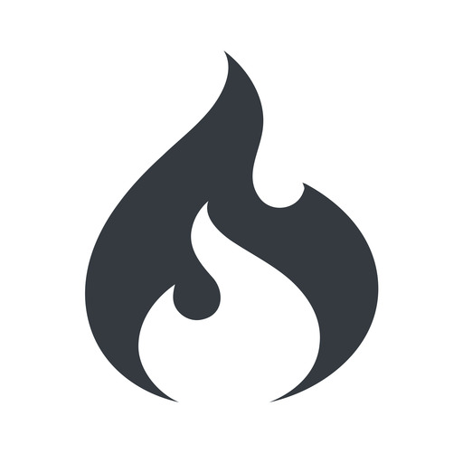 codeigniter normal, solid, logo, brand, icon, codeigniter, igniter, code, php, framework, flame, fire free icon 512x512 512x512px