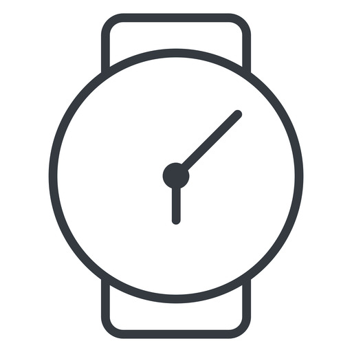 watch-thin thin, down, time, hour, minute, hours, minutes, watch, watch-thin free icon 512x512 512x512px