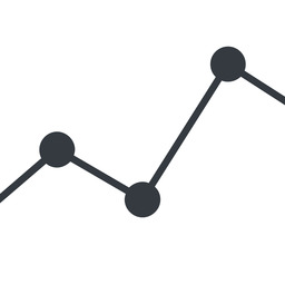 analytics-thin line, up, graph, analytics, chart, analytics-thin free icon 256x256 256x256px