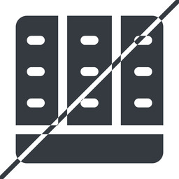 spreadsheet-solid thin, line, down, horizontal, mirror, prohibited, cell, table, data, grid, row, columns, spreadsheet, spreadsheet-solid free icon 256x256 256x256px