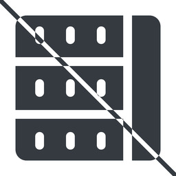 spreadsheet-solid thin, line, left, horizontal, mirror, prohibited, cell, table, data, grid, row, columns, spreadsheet, spreadsheet-solid free icon 256x256 256x256px