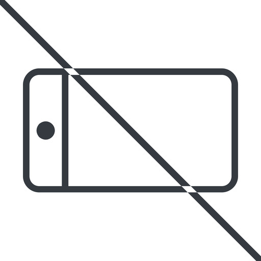 smartphone-thin thin, line, left, horizontal, mirror, prohibited, iphone, phone, mobile, android, gsm, smartphone, cell, smartphone-thin free icon 512x512 512x512px