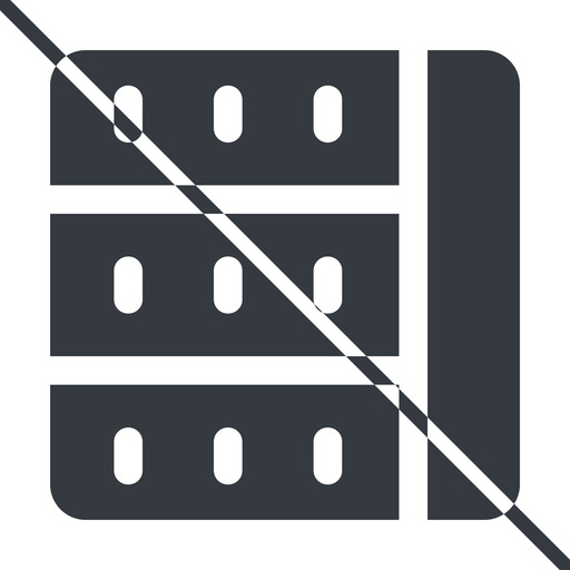 spreadsheet-solid thin, line, left, horizontal, mirror, prohibited, cell, table, data, grid, row, columns, spreadsheet, spreadsheet-solid free icon 512x512 512x512px