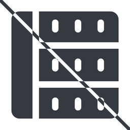 spreadsheet-solid thin, line, right, horizontal, mirror, prohibited, cell, table, data, grid, row, columns, spreadsheet, spreadsheet-solid free icon 256x256 256x256px