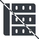 spreadsheet-solid thin, line, right, horizontal, mirror, prohibited, cell, table, data, grid, row, columns, spreadsheet, spreadsheet-solid free icon 128x128 128x128px