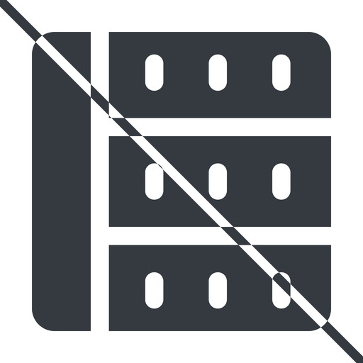 spreadsheet-solid thin, line, right, horizontal, mirror, prohibited, cell, table, data, grid, row, columns, spreadsheet, spreadsheet-solid free icon 512x512 512x512px