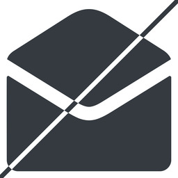 open-envelope-alt-solid thin, line, horizontal, mirror, envelope, mail, message, email, prohibited, contact, open, read, open-envelope, open-envelope-alt, open-envelope-alt-solid free icon 256x256 256x256px