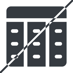 spreadsheet-solid thin, line, up, horizontal, mirror, prohibited, cell, table, data, grid, row, columns, spreadsheet, spreadsheet-solid free icon 256x256 256x256px