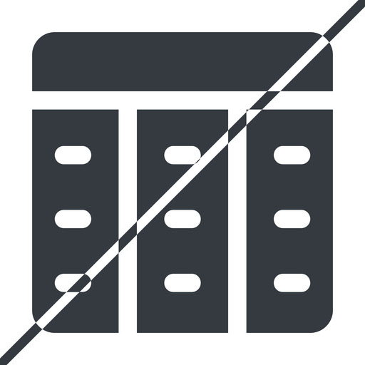 spreadsheet-solid thin, line, up, horizontal, mirror, prohibited, cell, table, data, grid, row, columns, spreadsheet, spreadsheet-solid free icon 512x512 512x512px