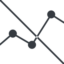 analytics-thin line, up, graph, analytics, chart, prohibited, analytics-thin free icon 256x256 256x256px