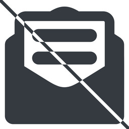 envelope-text-alt-solid thin, line, envelope, mail, message, email, letter, prohibited, contact, sheet, open, read, open-envelope, open-envelope-text, open-envelope-text-alt, envelope-text, envelope-text-alt-solid free icon 256x256 256x256px