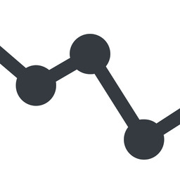 analytics-wide line, down, wide, horizontal, mirror, graph, analytics, chart, analytics-wide free icon 256x256 256x256px