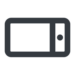 smartphone-wide line, left, wide, iphone, phone, mobile, android, gsm, smartphone, cell, smartphone-wide free icon 256x256 256x256px