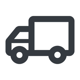truck-wide line, wide, solid, horizontal, mirror, truck, delivery, van, lorry, truck-wide free icon 256x256 256x256px