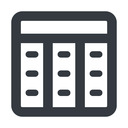 spreadsheet-wide line, up, wide, cell, table, data, grid, row, columns, spreadsheet, spreadsheet-wide free icon 128x128 128x128px