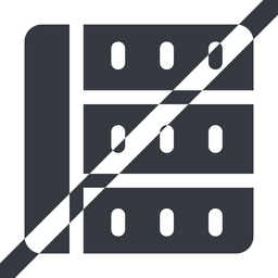 spreadsheet-solid line, left, wide, prohibited, cell, table, data, grid, row, columns, spreadsheet, spreadsheet-solid free icon 256x256 256x256px