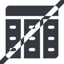 spreadsheet-solid line, up, wide, horizontal, mirror, prohibited, cell, table, data, grid, row, columns, spreadsheet, spreadsheet-solid free icon 128x128 128x128px