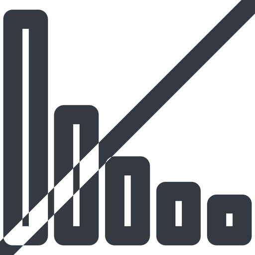 bar-chart-wide line, up, wide, horizontal, mirror, graph, chart, prohibited, statistics, antenna, mobile, signal, bars, level, strength, bar, bar-chart-wide free icon 512x512 512x512px
