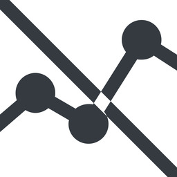 analytics-wide line, up, wide, graph, analytics, chart, prohibited, analytics-wide free icon 256x256 256x256px