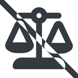balance-wide line, wide, prohibited, law, balance, justice, legal, scales, balance-wide free icon 256x256 256x256px