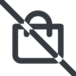 shopping-bag-wide line, wide, prohibited, shopping, cart, market, handbag, bag, bags, shopping-bag, shopping-bag-wide free icon 256x256 256x256px
