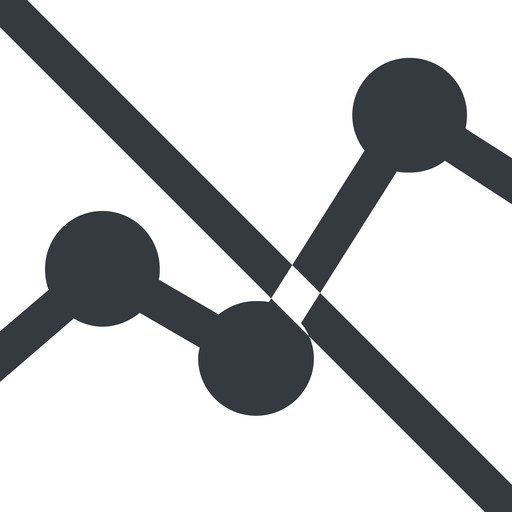 analytics-wide line, up, wide, graph, analytics, chart, prohibited, analytics-wide free icon 512x512 512x512px