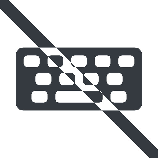 keyboard-solid line, up, wide, prohibited, desktop, keyboard, keypad, typing, keyboard-solid free icon 512x512 512x512px