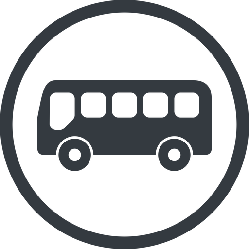 bus-side line, normal, wide, circle, horizontal, mirror, car, vehicle, transport, bus, side, bus-side free icon 512x512 512x512px